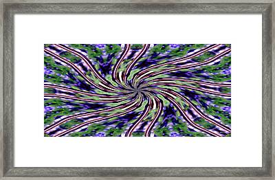 Ribbons 2925 Framed Print by Brian Gryphon