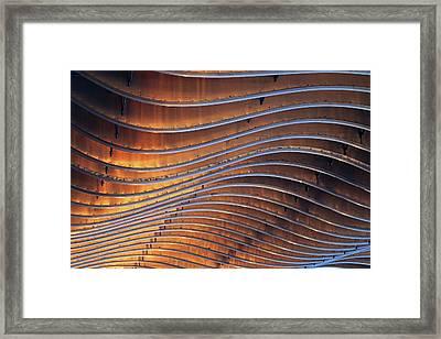 Ribbons Of Steel Framed Print