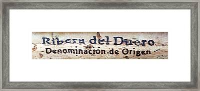 Ribera Del Duero Framed Print