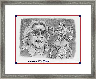 Ric Flair -the Nature Boy Framed Print