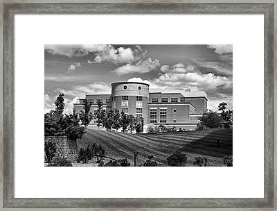Rice Library II B W Framed Print