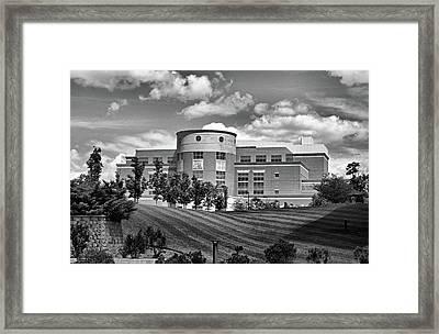 Rice Library II B W Framed Print