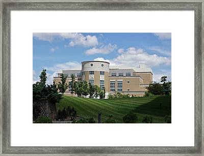 Rice Library II Framed Print