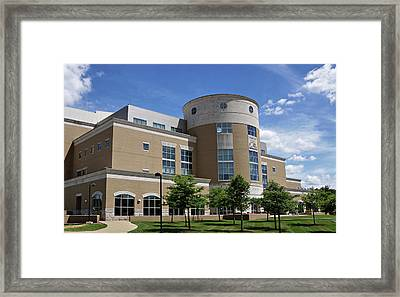 Rice Library Framed Print