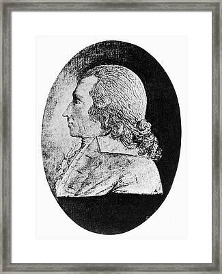 Richard Cranch Framed Print by Granger