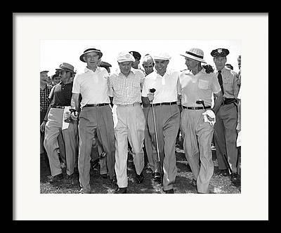 Golf Shirt Framed Prints