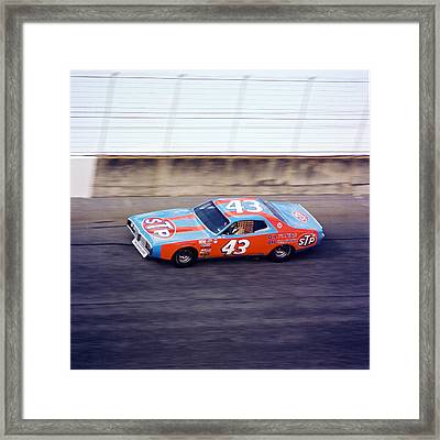 Richard Petty 1977 Daytona 500 Framed Print by David Bryant