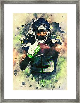 Richard Sherman Framed Print by Taylan Apukovska
