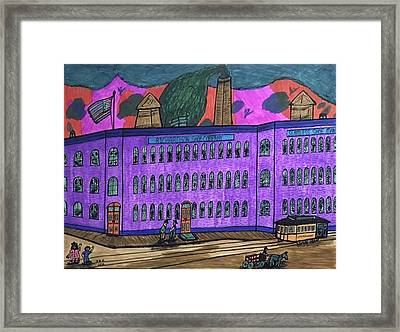 Richardson Shoe Company. Framed Print