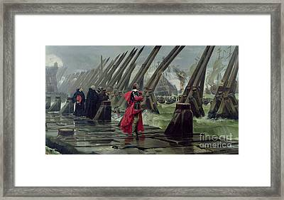 Richelieu Framed Print by Henri-Paul Motte