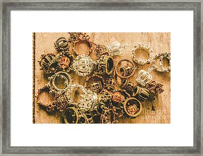 Riches To The Throne Framed Print