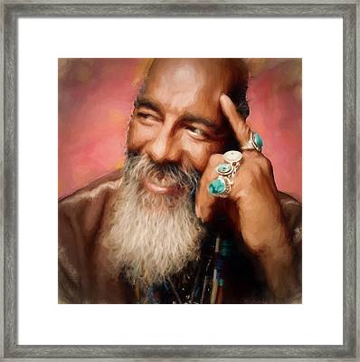 Richie Havens Tribute Framed Print by Dan Sproul