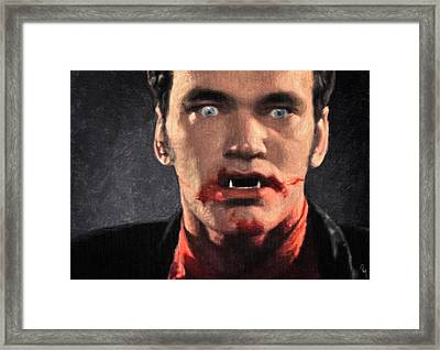 Richie Rising - From Dusk Till Dawn Framed Print by Taylan Apukovska