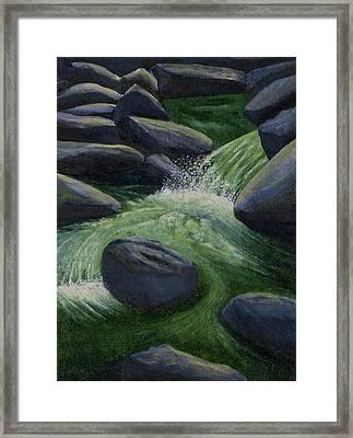 Richland Creek Arkansas Ozarks Framed Print
