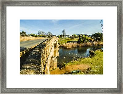 Richmond Bridge Tasmania Framed Print