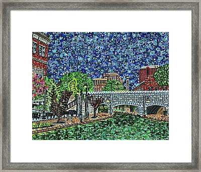Richmond Canal Walk Framed Print by Micah Mullen