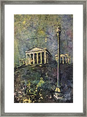 Richmond Capitol Framed Print by Ryan Fox