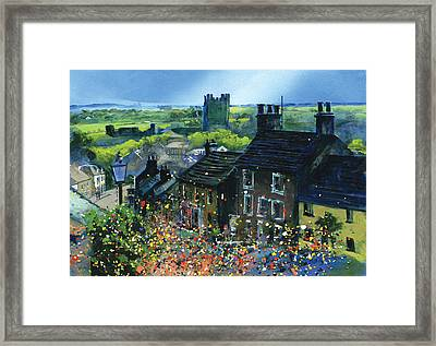 Richmond Carnival In Frenchgate Framed Print by Neil McBride