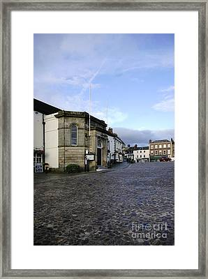 Richmond Market Place Framed Print