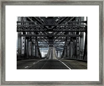 Richmond-san Rafael Bridge Framed Print