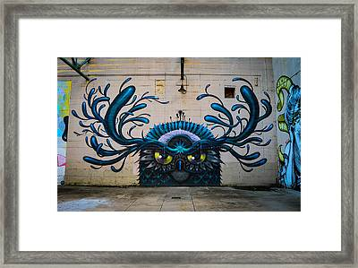 Richmond Street Art Framed Print