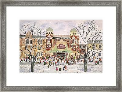Richmond Theatre   Surrey Framed Print by Judy Joel