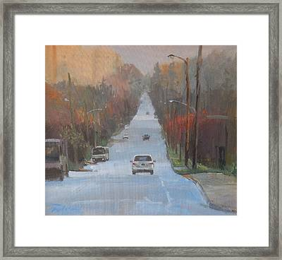 Richmond To The Jubilee Framed Print by Ron Wilson