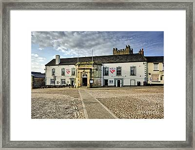 Richmond Town Hall Framed Print by Nichola Denny
