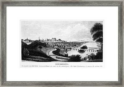 Richmond, Virginia, 1856 Framed Print by Granger