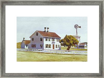 Rich's House Framed Print by Edward Hopper