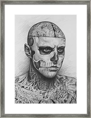 Rick Genest Framed Print