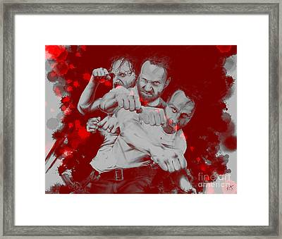 Rick Grimes Framed Print by David Kraig
