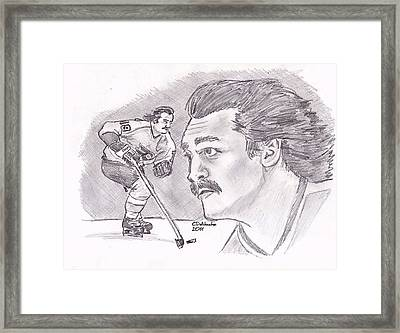 Rick Macleish 50 Framed Print by Chris  DelVecchio