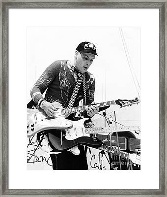 Rick Neilsen Of Cheap Trick 1980 Framed Print