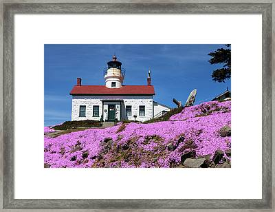 Battery Point Lighthouse Framed Print by Rick Pisio