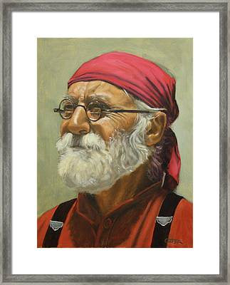 Rickabod At High Noon Framed Print