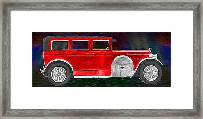 Rickenbacker 1920s Automobile Framed Print