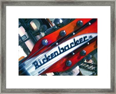Rickenbocker Framed Print by Sergio Geraldes