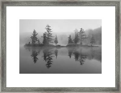 Ricker Pond Autumn Vermont Framed Print