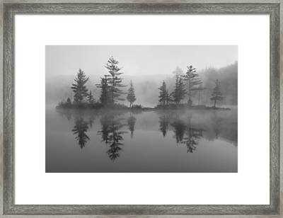 Ricker Pond Autumn Vermont Framed Print by Binh Ly