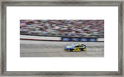 Ricky Stenhouse Jr. Racing At Bristol Motor Speedway Framed Print