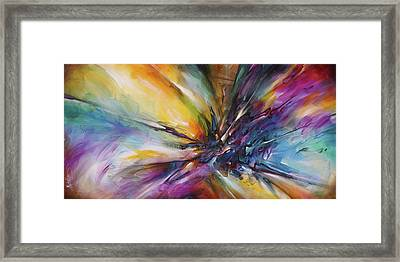 'ricochet ' Framed Print by Michael Lang