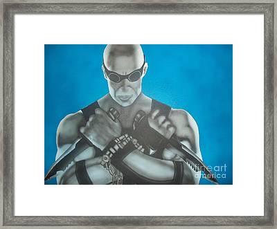 Riddick Framed Print