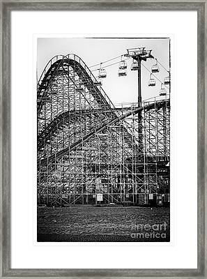 Ride At Your Own Risk Framed Print by John Rizzuto
