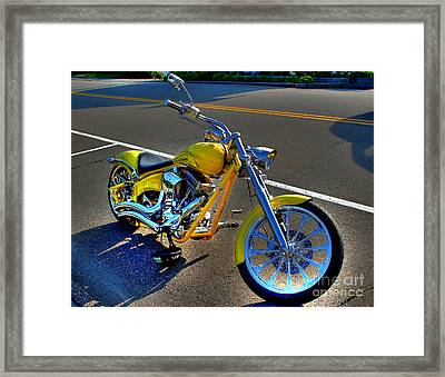 Framed Print featuring the photograph Ride Hard... by Adrian LaRoque