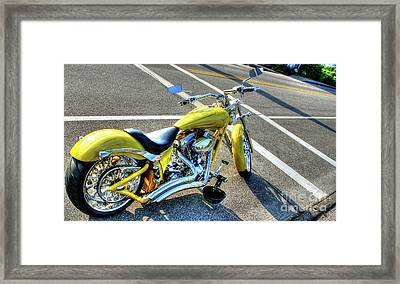 Ride Hard II Framed Print