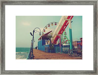 Ride It Out Framed Print by Laurie Search