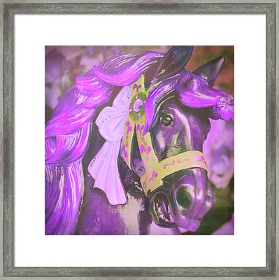Ride Of Old Purples Framed Print