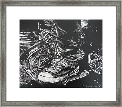 Ride On Framed Print