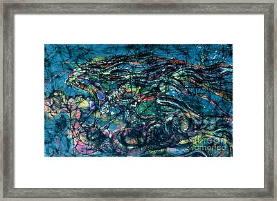 Ride The Wind Framed Print